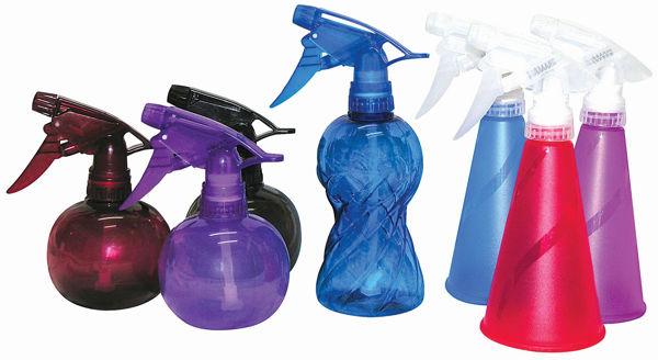 מרססי מים פלסטיק צבעוני