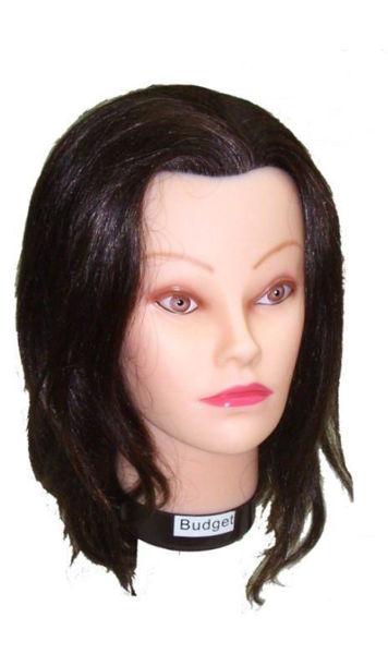 ראש אימון באדג'ט שיער טבעי