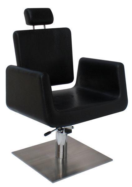 כסא למספרה לאונרדו שחור