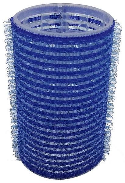 רולים לשיער וולקרו 38 כחול בינוני (12 יח')