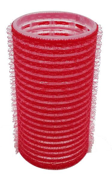 רולים לשיער וולקרו 33 אדום בינוני (12 יח')
