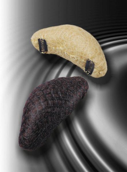בננה עם 2 קליפסים- צבע חום