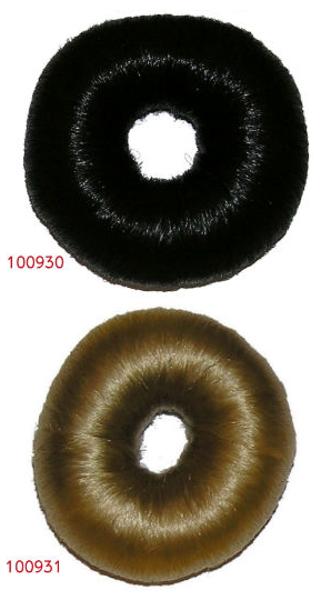 בייגלה שיער שחור/בלונד