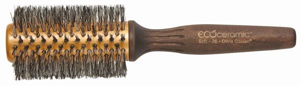 מברשת אקו טרמל 36 שיער רך