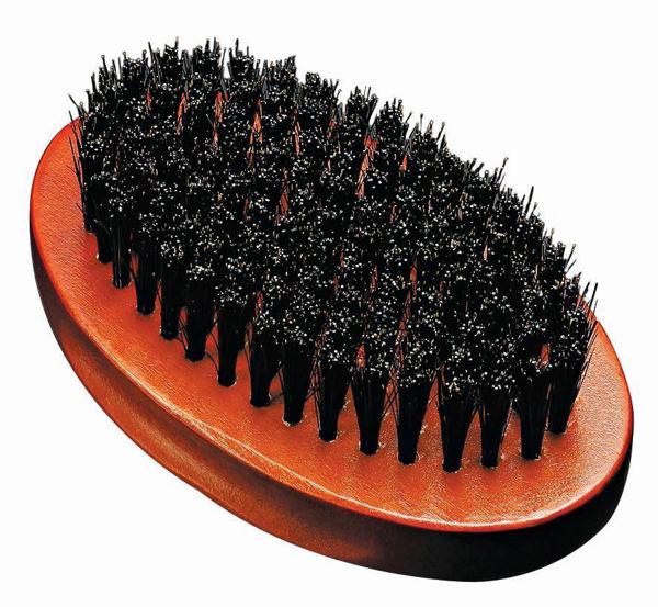 מברשת זקן אובלית שיער טבעי