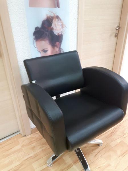 כסא פריז WD-598B שחור ללא רגלית