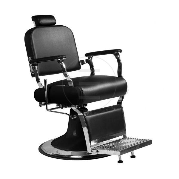 כסא מעוצב גברים לאו ריפוד שחור/חום