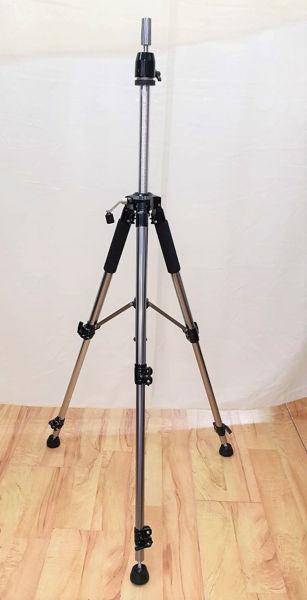 עמוד טלסקופי מהודר לראש בובה 3 רגליים