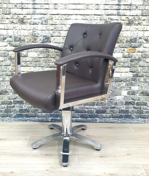 כיסא הידראולי סהרה BM חום